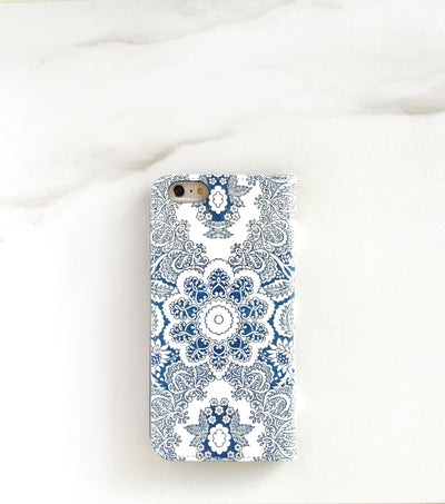 Indigo Boho iPhone 7 Wallet case