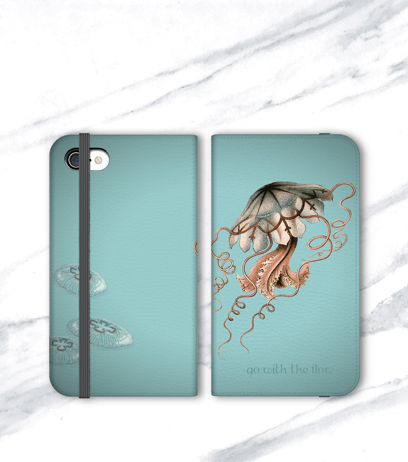 Jellyfish Wallet for iPhone front and back