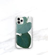 sage green leaf case for iPhone 11 pro max