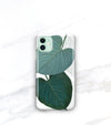 tropical jungle leaf iPhone 11 case