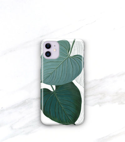 leafy tropics iPhone 11 case
