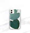 iPhone 11 tropical leaf case modern jungle