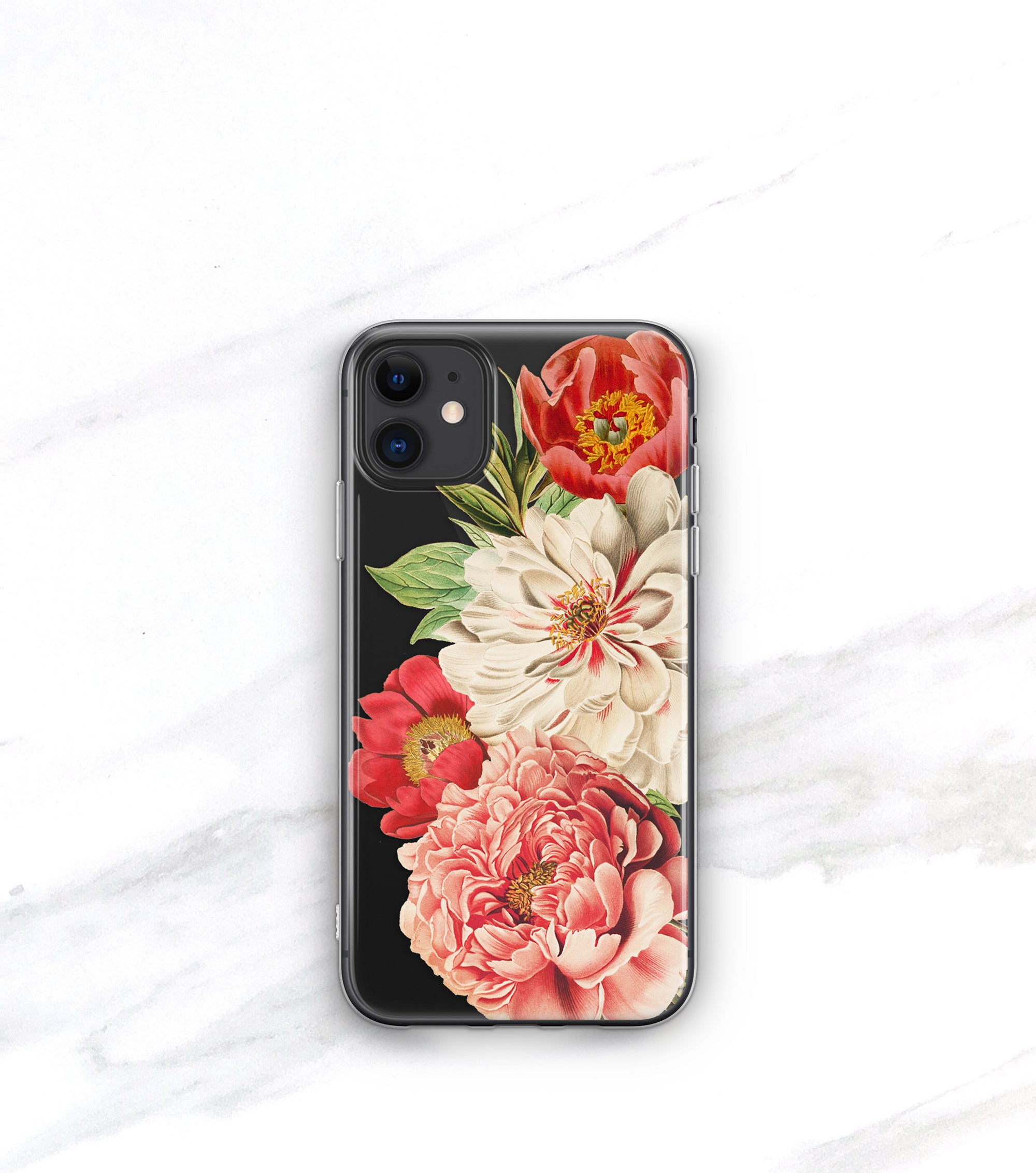 Queen of Flowers Clear Case | iPhone