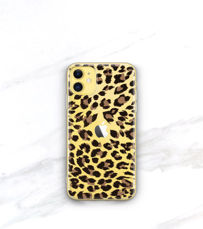Classic Leopard Clear Case | iPhone