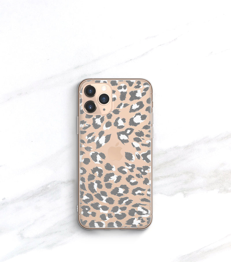 Snow Leopard Clear Case | iPhone