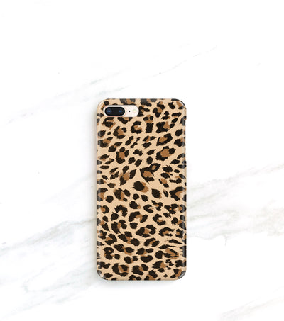 leopard print iPhone 8 plus case