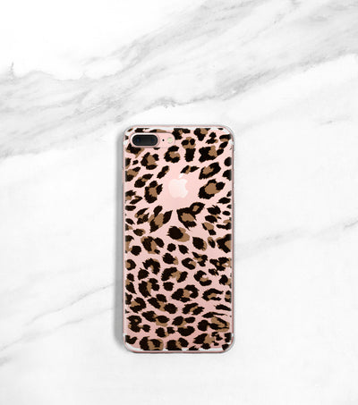 Leopard phone case