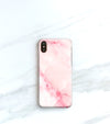pink marble iPhone xs max case