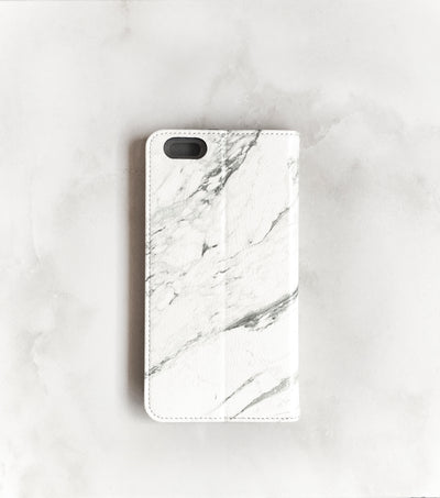 Marble iPhone 7 Wallet case