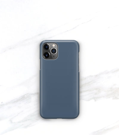slim french blue case in matte finish for iphone 11 pro