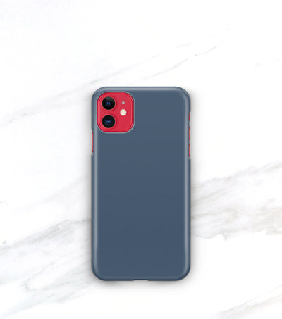 french blue case on a red iphone 11