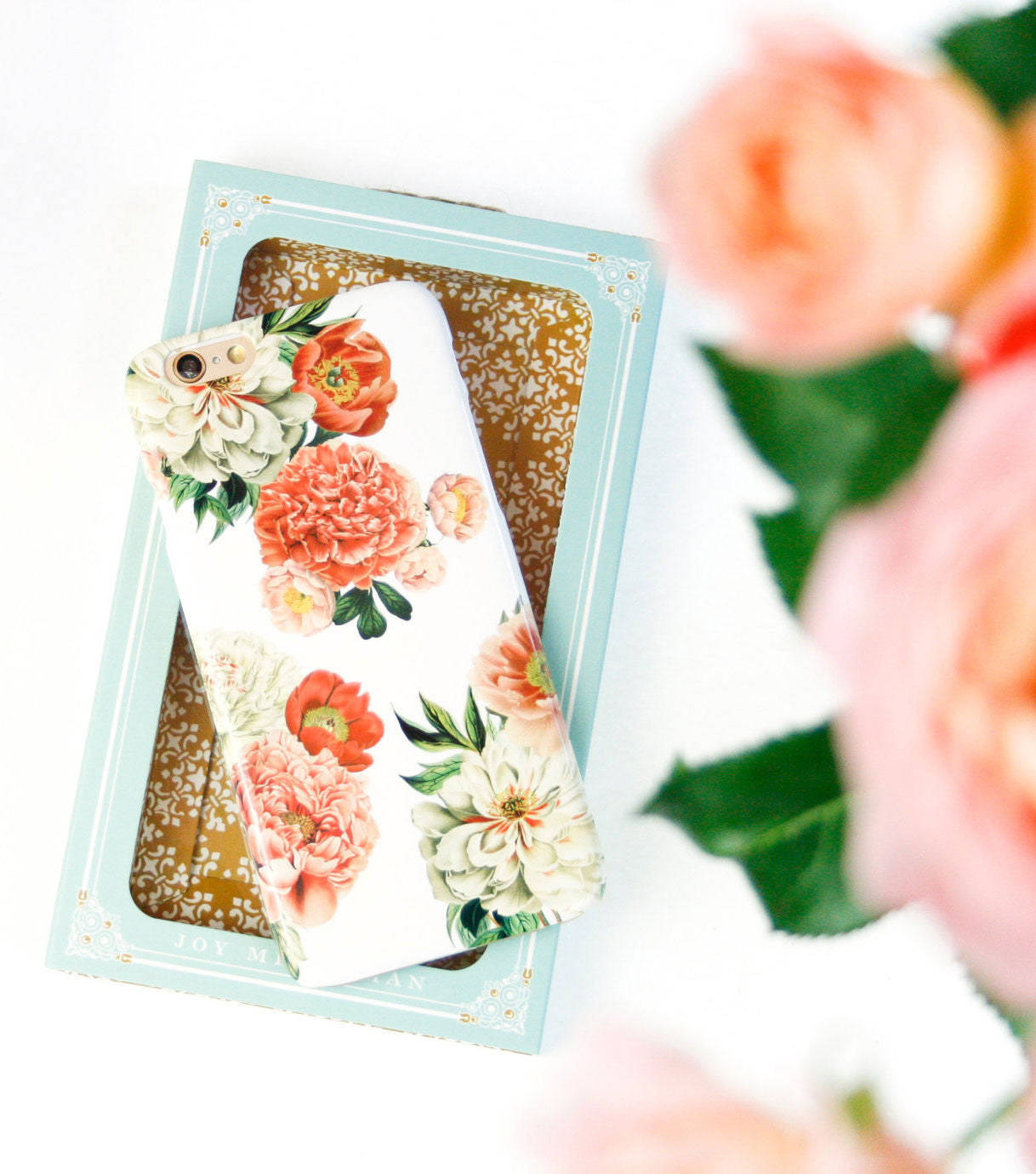 Peony Bunch Case | iPhone