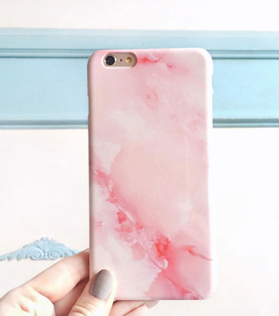 phone case pink marble