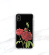 iPhone xs case red roses