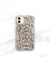 snakeskin roccia print iPhone 11 case