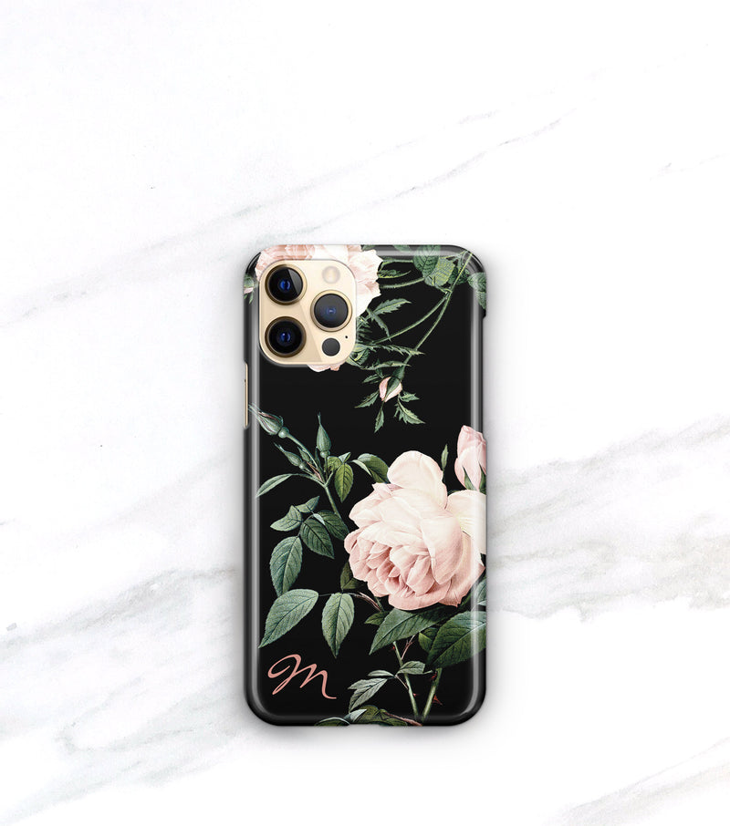 Blush Rose Dark Case | iPhone 12/12 Pro