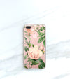 Blush Rose hybrid clear case