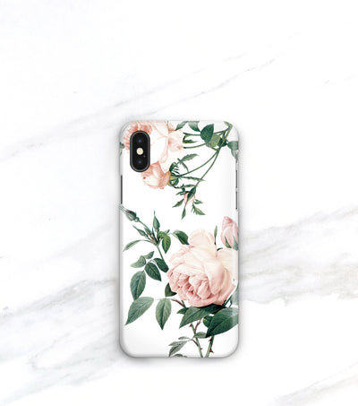 Rose pattern iPhone xs max case