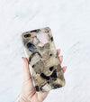 iPhone 8 Plus with Smoke Quarts pattern case