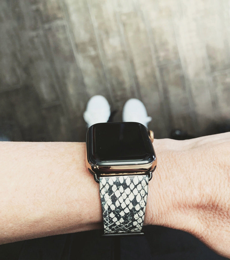 Graphic Snakeskin Print Band