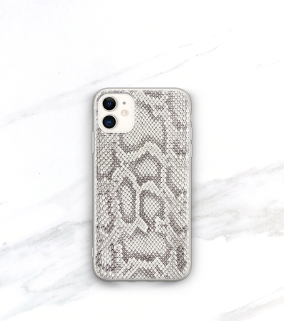snakeskin print iPhone 11 case