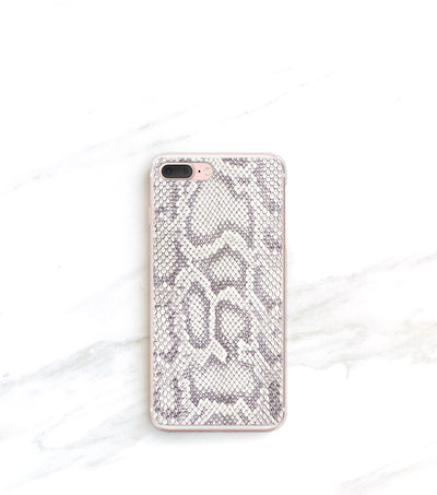 snakeskin print iPhone 7 plus case