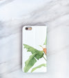 Tropical Leaf Banana iPhone 7 Wallet case