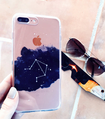 Libra Zodiac Constellation Case for iPhone