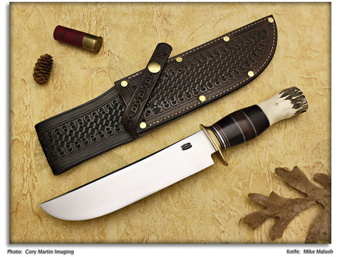 "Malosh, Mike - 8"" Scagel Style Camp Knife"