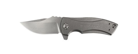 "ZT-0900 - George S.W. Titanium (3.9"") Flipper - FrameLock Folder"