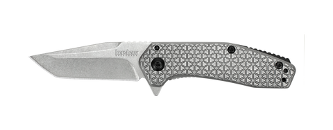 Cathode - SS Assisted Flipper - FrameLock Folder - StoneWash Plain Edge
