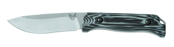 Saddle Mountain - Skinner, Drop Pt. w/Sheath - Fixed Blade