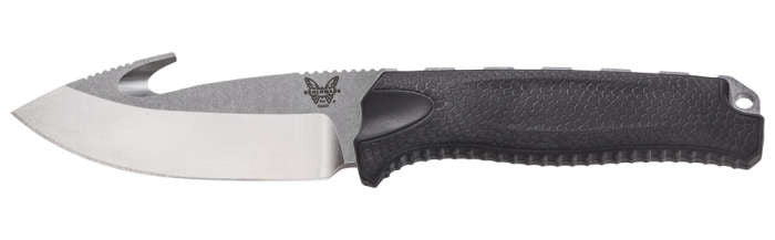 Steep Country - Gut Hook, Drop Point w/Kydex Sheath - Fixed Blade