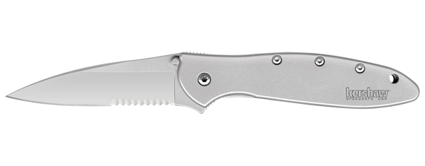 Leek - Stainless Steel Assisted Flipper - FrameLock Folder