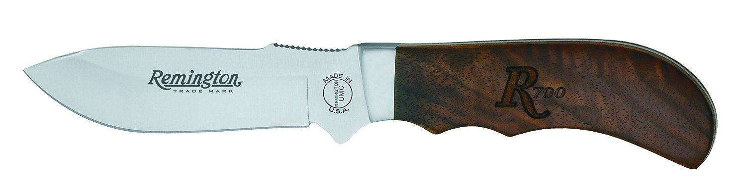 "Heritage R700 Drop Point - Walnut (8 1/4"") Hunter w/Sheath - Fixed Blade"