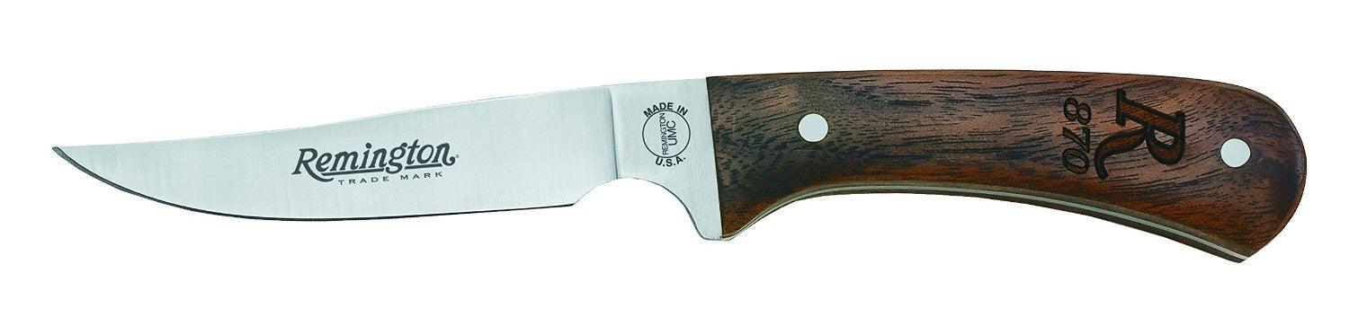 "Heritage R870 Bird & Trout - Walnut (6-3/4"") Hunting Knife w/Sheath - Fixed Blade"