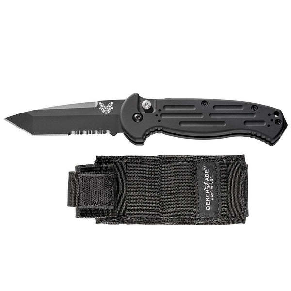 AFO II - Aluminum Automatic w/Sheath - ButtonLock Folder