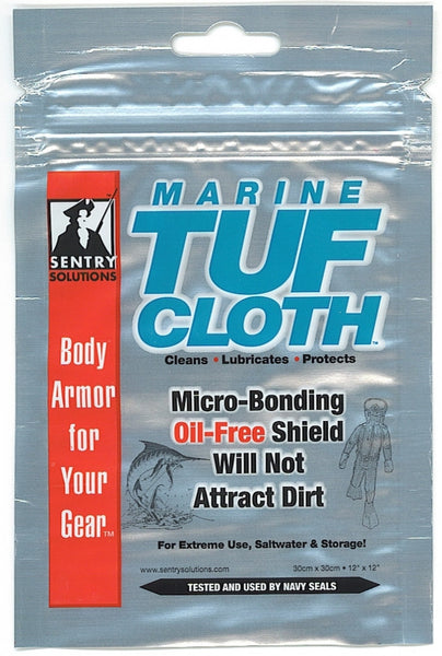 Tuf-Cloth, Marine - Formulated for Saltwater & High Humidity - Pouch