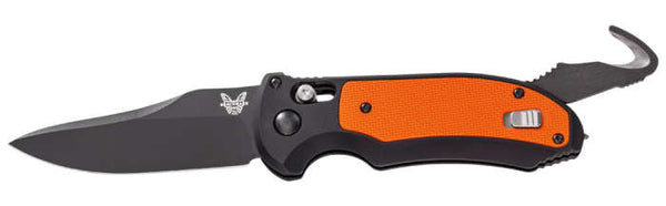 Triage, Auto - Aluminum w/G10 Inlays Rescue Tool - AxisLock Folder