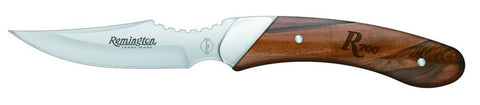 "Caper - Walnut (6 3/4"") Hunting Knife w/Sheath - Fixed Blade"