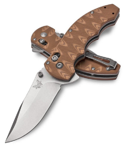 Axis Flipper - G10 Drop Point Flipper - AxisLock Folder