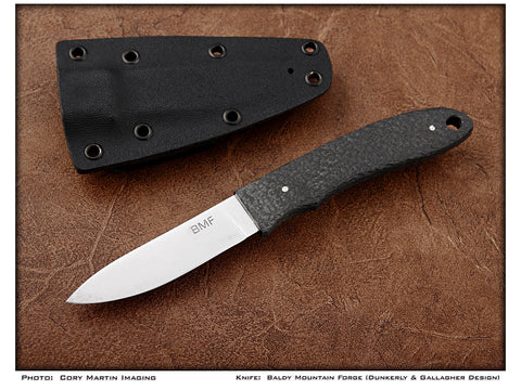 Front Range - Carbon Fiber Ultra-Light Hunter - Fixed Blade - Plain Edge