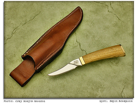 "Bohrmann, Bruce - ""Herbie"" Elm Utility Hunter - Fixed Blade"