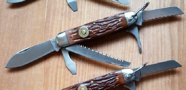 Camillus 1993 Cartridge Knife – Delrin Camp/Scout Utility PocketKnife
