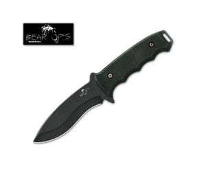 Bear OPS Constant - G10 Survival Knife w/Sheath -Fixed Blade