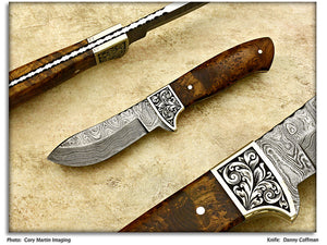 Coffman, Danny - Green River Hunter/Skinner - Fixed Blade