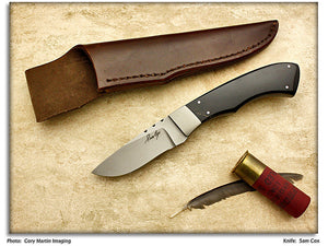 Cox, Sam - Oryx Small Skinner/Hunter - Fixed Blade - Plain Edge