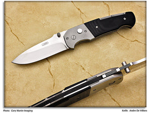 deVilliers, Andre - Pathfinder Tactical Drop Point - LinerLock Folder