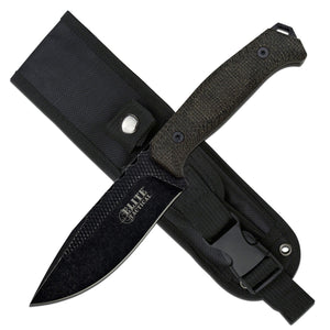 Elite Fixed - Micarta Drop Point w/Nylon Sheath - Fixed Blade