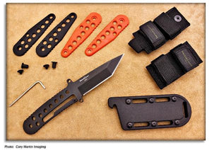 Timberline Fellhoelter ECS - Fixed Blade w/Sheath System